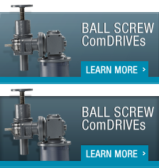 Ball Screw ComDRIVEs